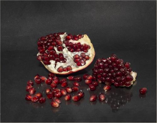 Pomegranate 8 7.5 8 23.5 GPP Elzbieta Piskorz  Pictorial Gold