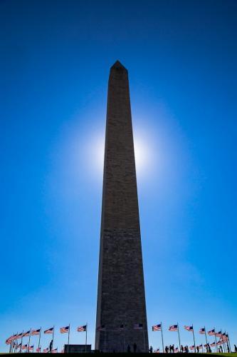 Washington Monument 7 6.5 7 20.5 Geoffrey Skirrow  Pictorial Gold