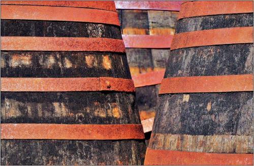 Ex Bourbon Barrels 6.5 7.5 7.5 21.5 James Hamilton  Pictorial Gold