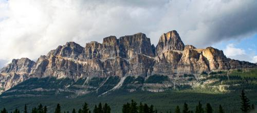 Castle Mountain Alberta 7 7.5 7 21.5 Andy Langs  Pictorial Gold
