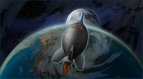 Moon Shot 9 7.5 8.5 25 HM DP Doug Doede  Creative Master