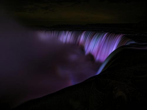 Niagara At Night 7 8 6.5 21.5 Dan Copeland  Pictorial Master
